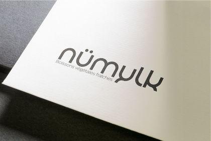 Création de logo pour marque de boisson végétale