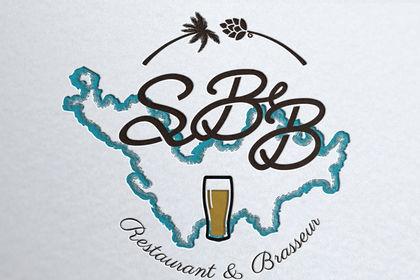 Création de logo restaurant st Barthélemy Bieres
