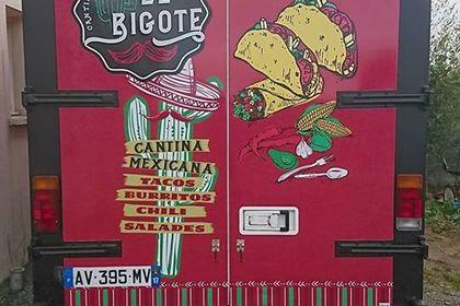 Création de design covering food Truck