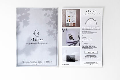 Flyer Claire Graphism