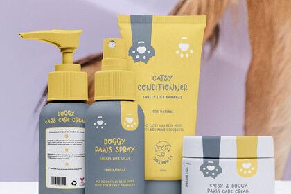 Présentation packaging SOS PAWS!