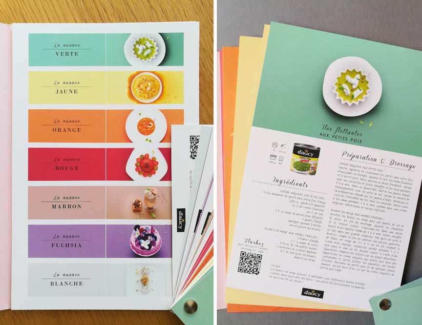 Packaging recettes daucy