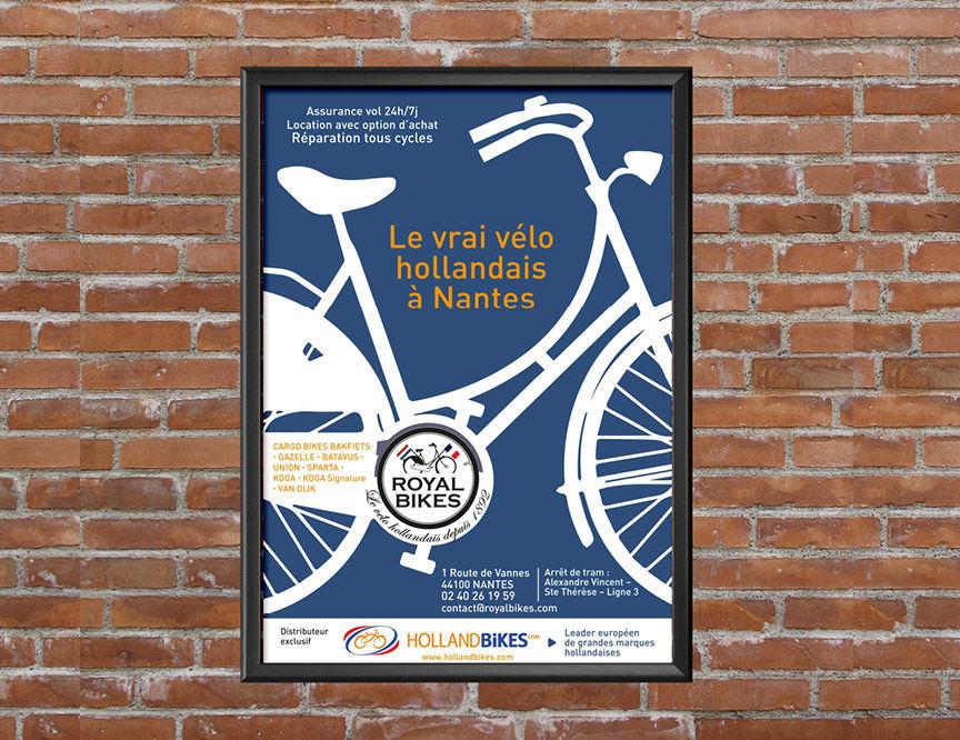 Affiche et Flyer Royal Bikes