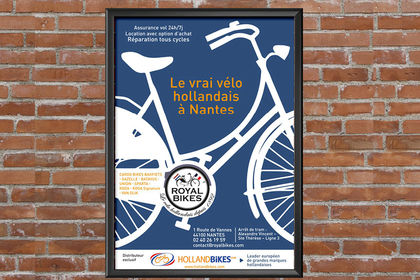 Affiche et Flyer Royal Bikes