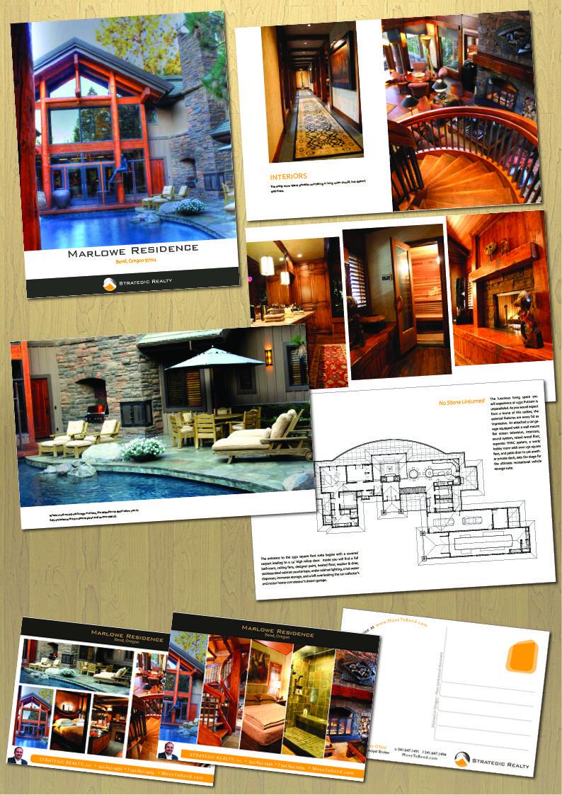 Brochure 50+ pages et cartes postales