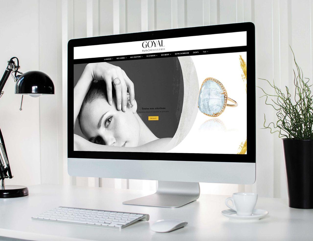 Site web GOYAL PARIS