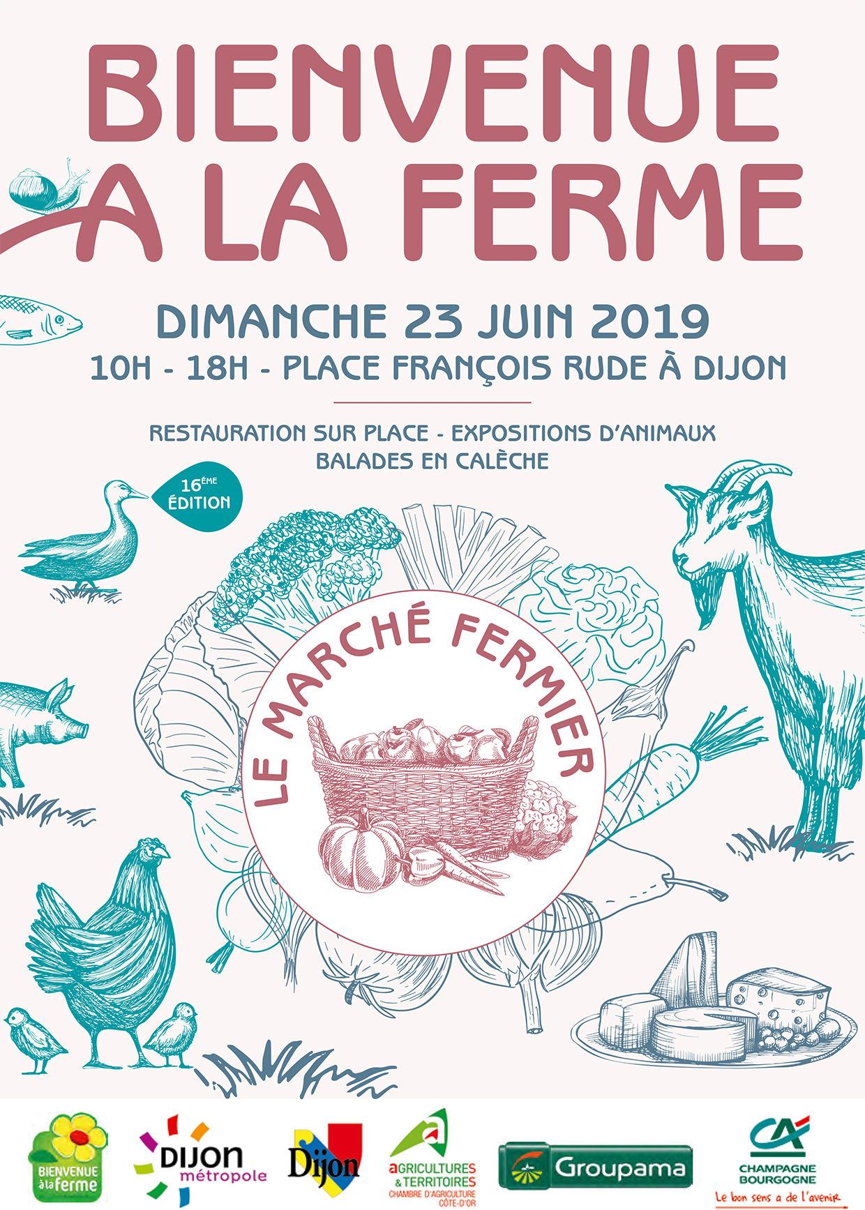 BIENVENUE A LA FERME - 2019