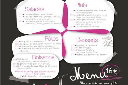 MENU DELIT GOURMAND