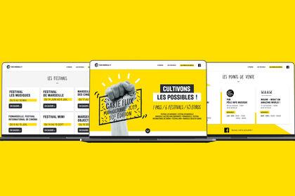 Web design - Flux de Marseille