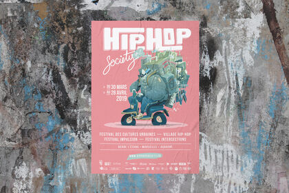 Affiche Hip-Hop Society