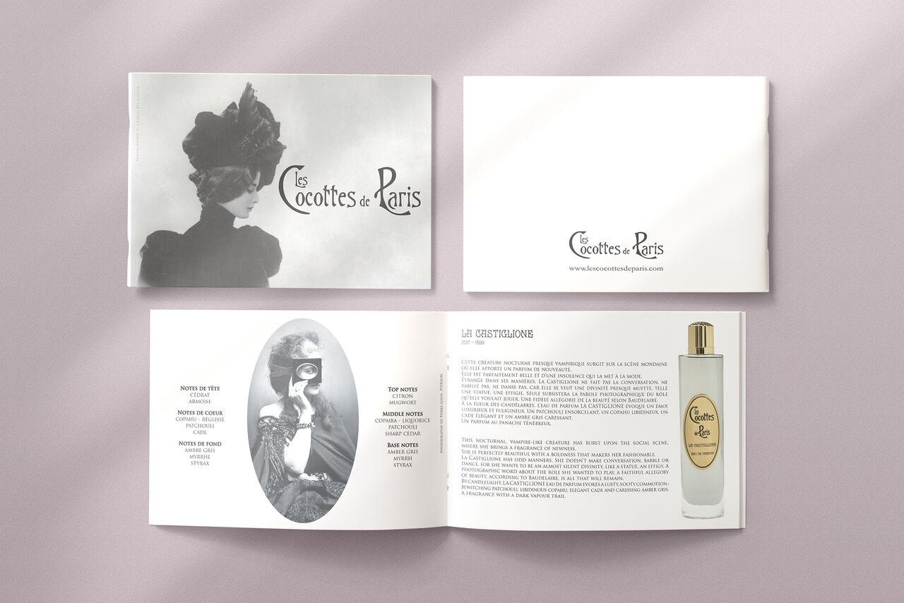 Brochure LES COCOTTES DE PARIS