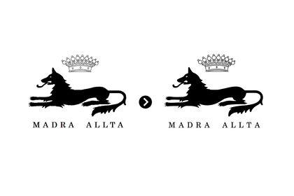 Vectorisation - Logo Madra Alta