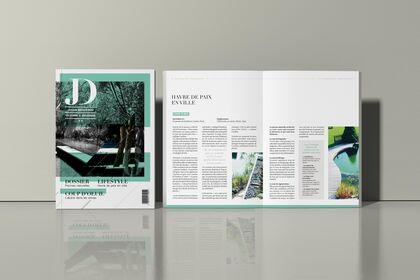 Mise en page - Magazine
