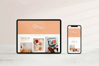 Site web Meora design