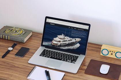 Site internet - bateau Heliad2
