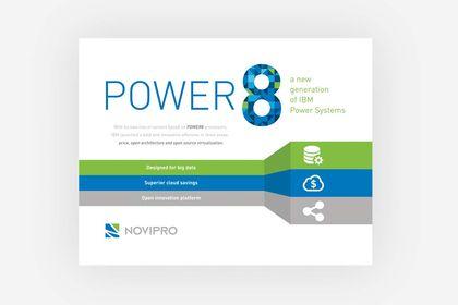 Dépliant pour Power 8 de Novipro
