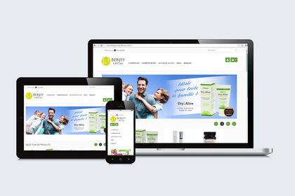 Création site web et mobile / Beauty & Flavour