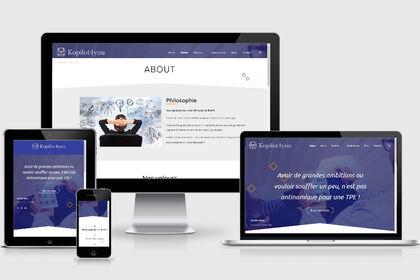 Design web et intégration du site kopilot4you