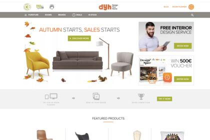 Design site E-commerce