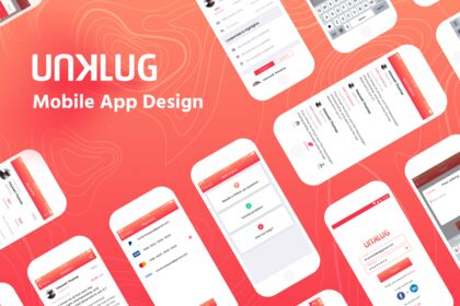 Unklug Mobile App Design