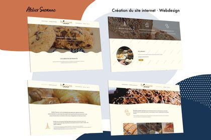 L'Atelier Suzanne - Webdesign