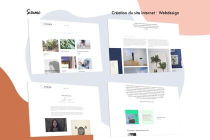 Sisume - Webdesign