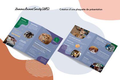 HAS (Humane Animal Society) - Graphisme