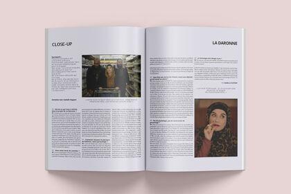 Magazine / Maquette de presse