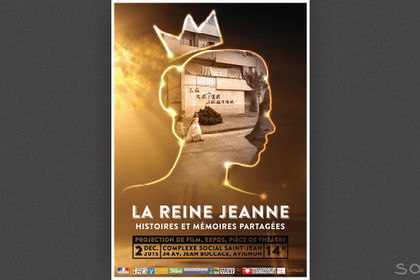 Affiche Reine Jeanne