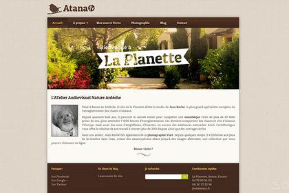 Site web Atana.fr
