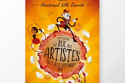 La Rue Aux Artistes - Festival d'artistes de rue