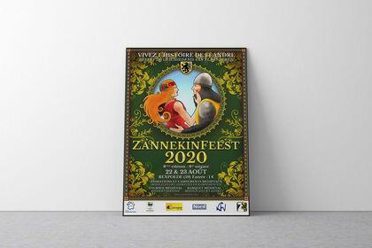 Affiche festival Zannekinfeest 2020