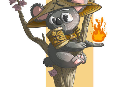Koalak, seigneur de la flamme ancestrale