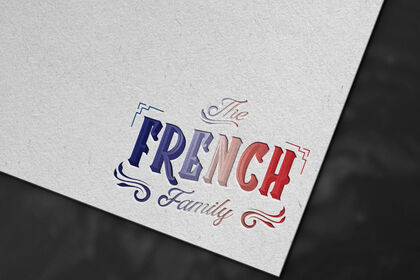 """Logo """"The French Family"""""""