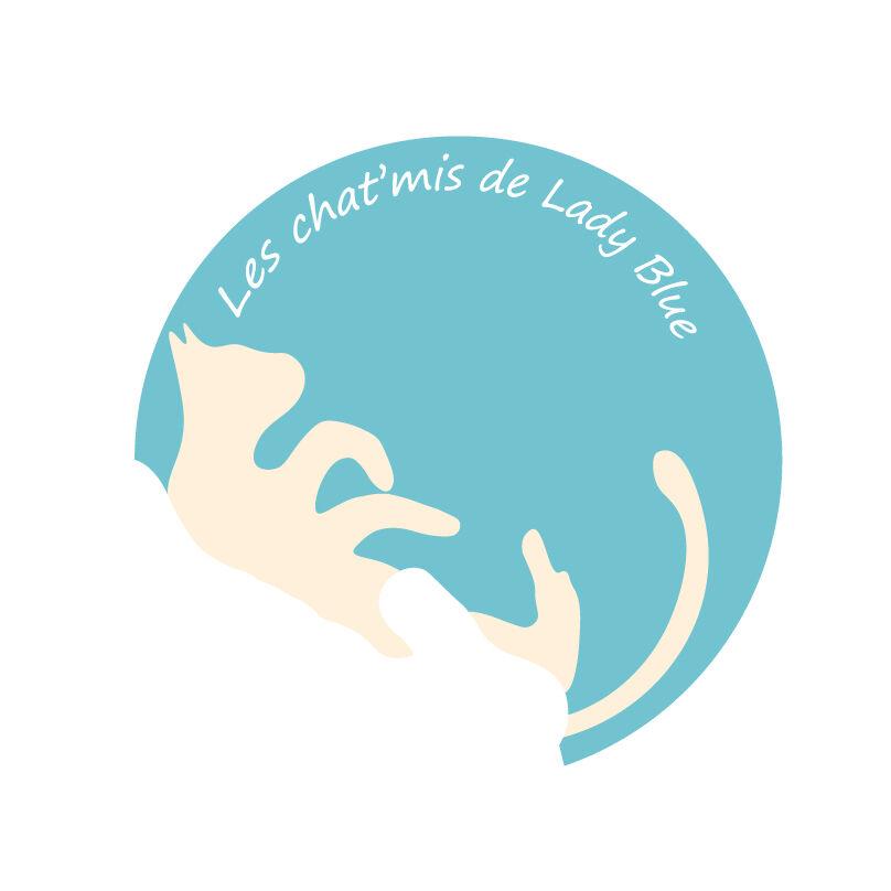 Logo Les chat'mis de Lady Blue