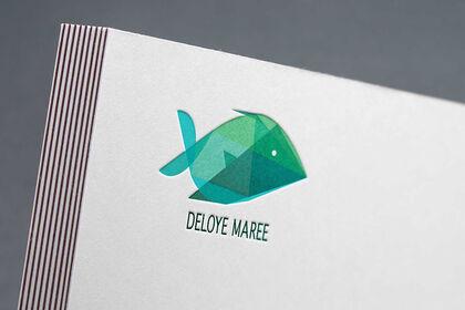 """Logo """"Deloye Marée"""""""