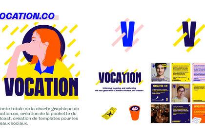Direction artistique @Vocation.co ⚡