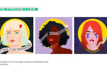 Illustrations pour @LesPirouettes ⚖