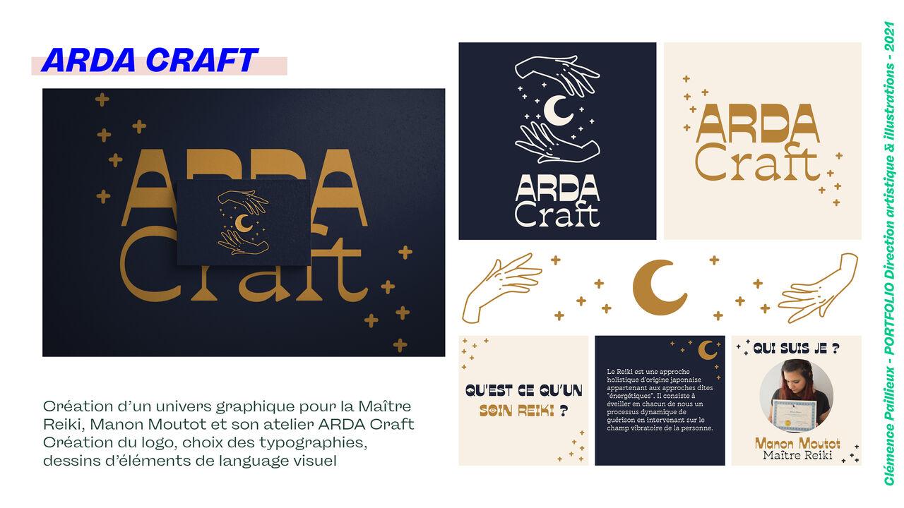 Direction Artistique - ARDA Craft 🌙 Maître Reiki