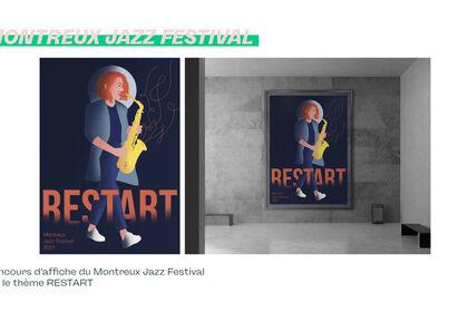 Poster Affiche Festival Jazz 🎷