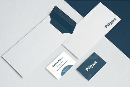 Papeterie et cartes de visite pilowa v1