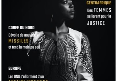 Couverture Magazine d'actu