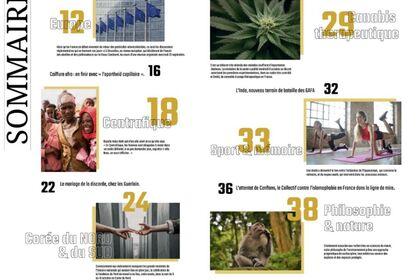 Sommaire magazine