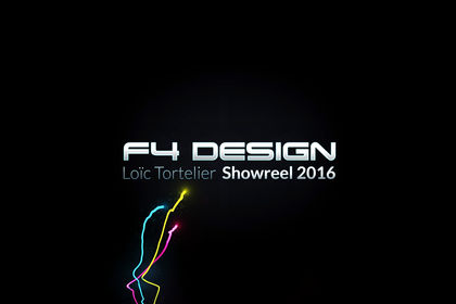 F4 Design Showreel 2016