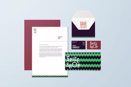 Papeterie graphique • Spice shop