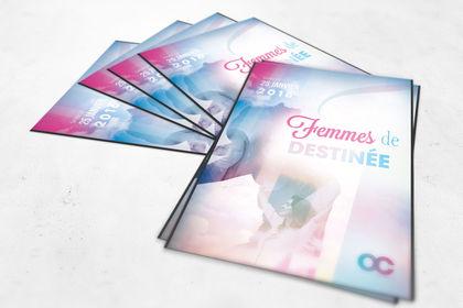 Flyer Conférence des Femmes