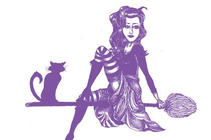 Illustration sorcière