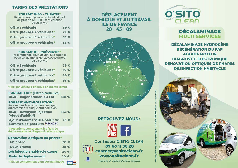 Flyer O'Sito Clean