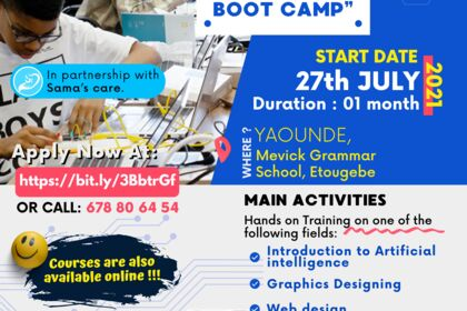Bootcamp Event Flyer