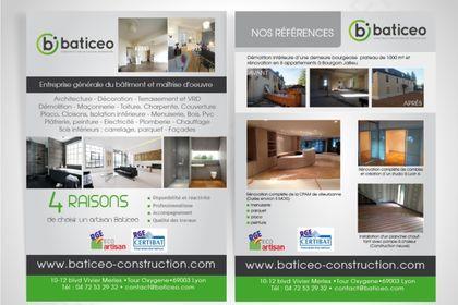 Flyer Baticeo Constructions